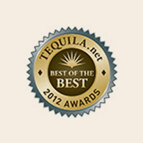 "2012 TEQUILA.net Awards – ""Best of the Best"" Best Highland Añejo Tequila Judge Favorite"