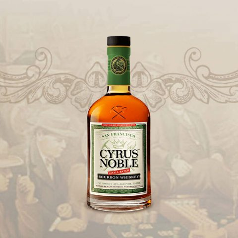 "Cyrus Noble Bourbon chosen as a top rated selection in ""The North American Whiskey Guide"""