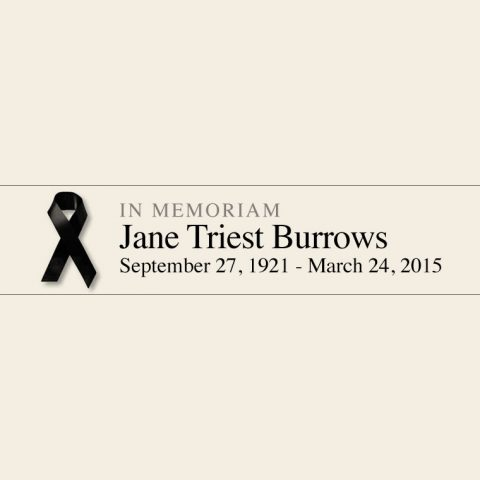 Jane Burrows RIP