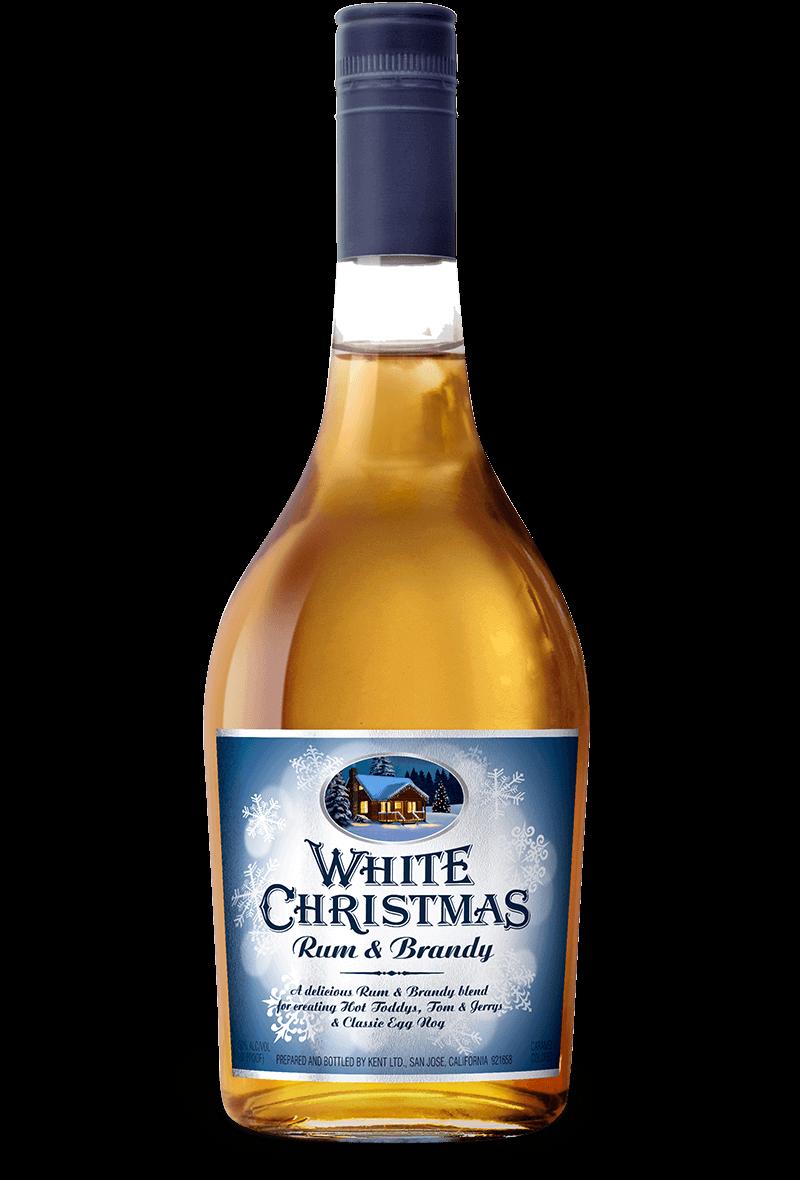 Christmas Liquor.White Christmas Rum Brandy Haas Brothers